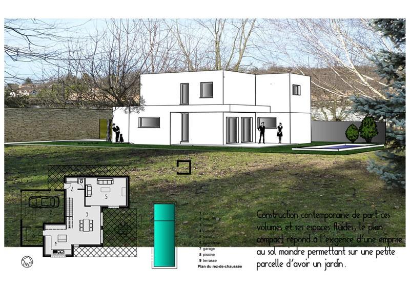 Maison individuelle architecte marcy l 39 etoile for Architecte bordeaux maison individuelle
