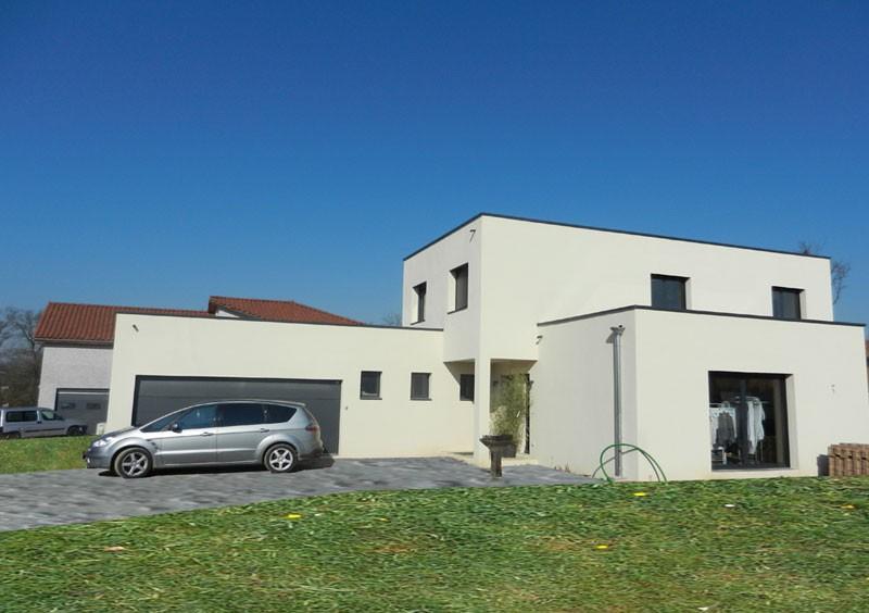 Maison individuelle architecte marcy l 39 etoile for Architecte grenoble maison individuelle