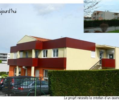 Aménagement de local professionnel - Architecte à Marcy-l'Etoile
