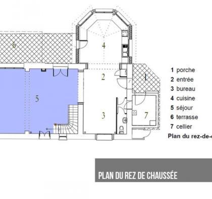 Extension de maison - Architecte à Marcy-l'Etoile