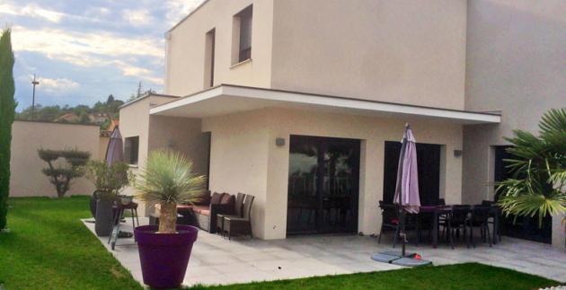 Maison individuelle - Architecte à Marcy-l'Etoile